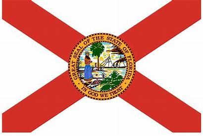 Florida Flagge Zustand Pixabay Vereinigte Staaten Bild