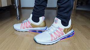 NIKE SHOX GRAVITY METALLIC GOLD!!!!! (UNBOXING & REVIEW ...  Nike