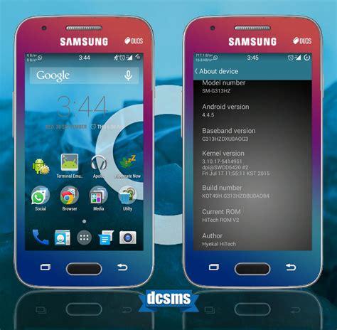 rom hitech rom v2 for samsung galaxy v sm android