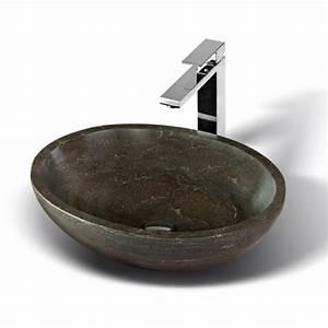 le lavabo vasque une perle dans la salle de bain With lavabo en pierre salle de bain
