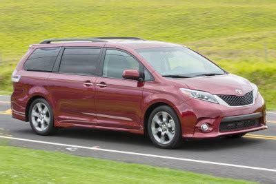 2016 Toyota Sienna Se 8passenger Minivan Review & Ratings