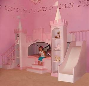 Princess Castle Bed With Slide - Home Decorating Ideas