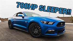 700HP Mustang GT 5.0 Coyote REVIEW - YouTube