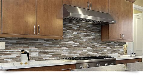 glass backsplash in kitchen brown metal glass mixed mosaic kitchen backsplash tile 3759