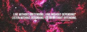 Full HD Galaxy facebook cover photos with quotes-2016 ...
