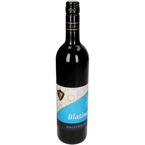 Blatina Rotwein Halbtrocken Aus Bosnien Herzegowina