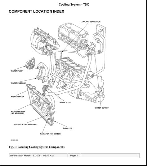 free service manuals online 2002 acura cl engine control 2006 acura tsx service repair manual