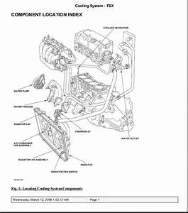 Acura Tsx 2004 Engine Diagram