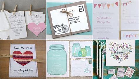 15 diy vintage wedding invitations vintage save the dates