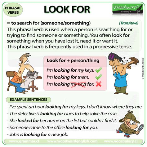Verb Scow Meaning by Look For Phrasal Verb Meanings And Exles