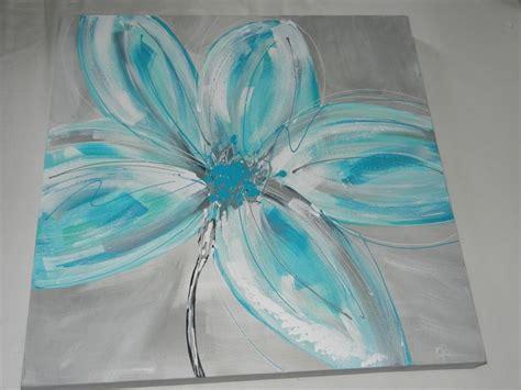 25 best ideas about peinture fleurs on fleurs abstraites peindre un tableau and