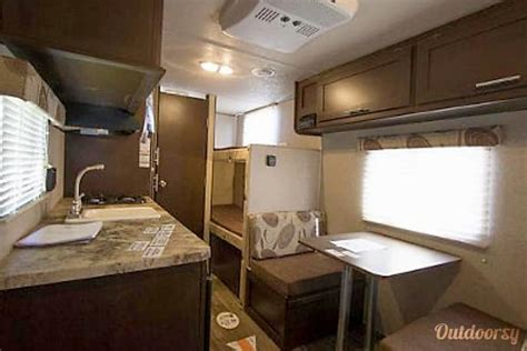 Interior Pictures by 2018 Forest River Wolf Pup 16bhs Trailer Rental In Golden