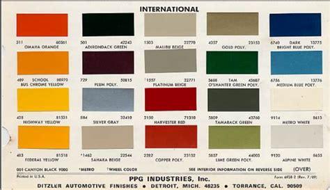 international truck paint code location paint color ideas