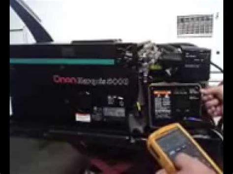 onan rv generator marquis  watt  carb