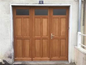 porte de garage battant bois 50067 garage idees With porte de garage et installer porte interieur
