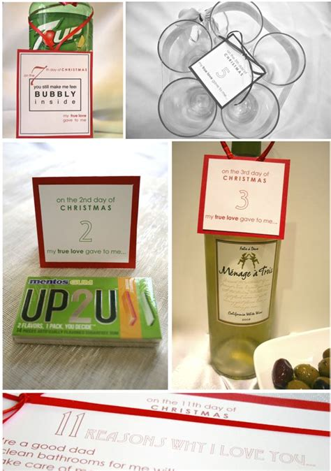 12 days of christmas gifts for your husband www