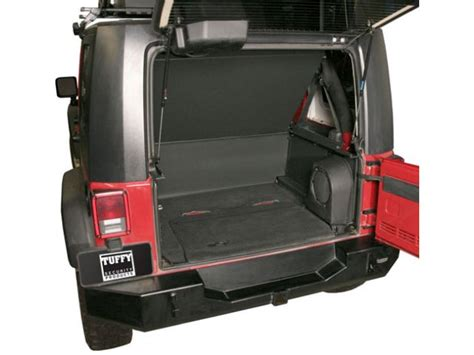 Tuffy Security Deck Jeep Jk by Tuffy 173 01 Tuffy Security Products Security Deck