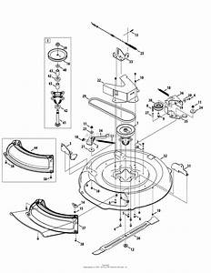 Mtd 13a226jd000  2012  Parts Diagram For Mower Deck 30