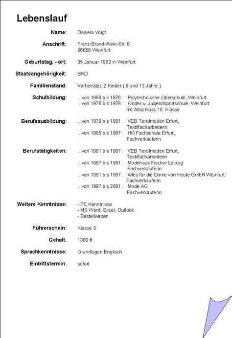 Vordruck Lebenslauf Word by Lebenslauf Word Newhairstylesformen2014