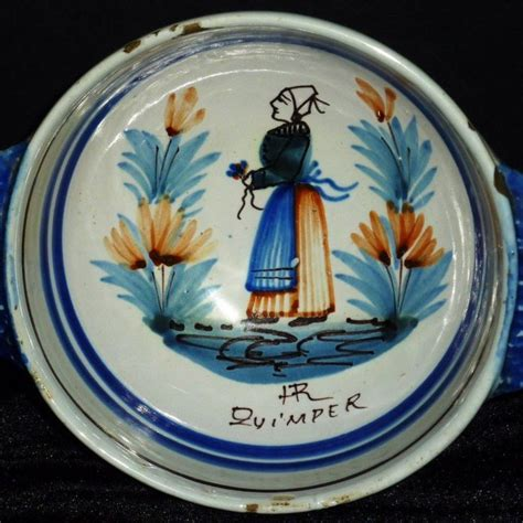Quimper Gravy Boat by 163 Best I Collecting Quimper Faience Pottery Images