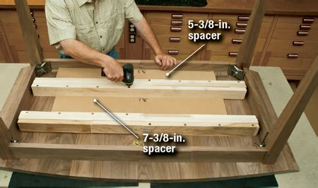 woodworking plans extension dining table easy  follow