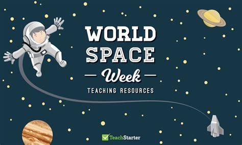 world space week teaching resources teach starter