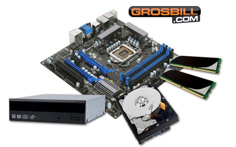 carte graphique pc bureau grosbill kit pc à monter start v intel pentium dual