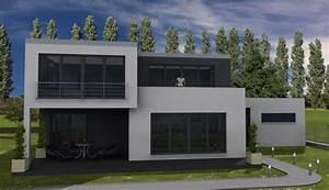 Garagenanbau Mit Terrasse : bauhaus 178 zwei balkone und durchdachter grundriss ~ Lizthompson.info Haus und Dekorationen