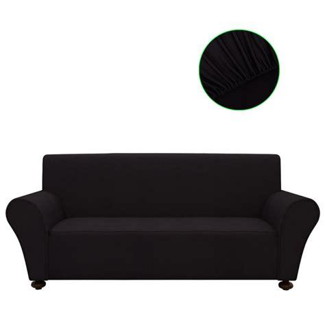 housse de canapé noir la boutique en ligne vidaxl housse de canapé en polyester