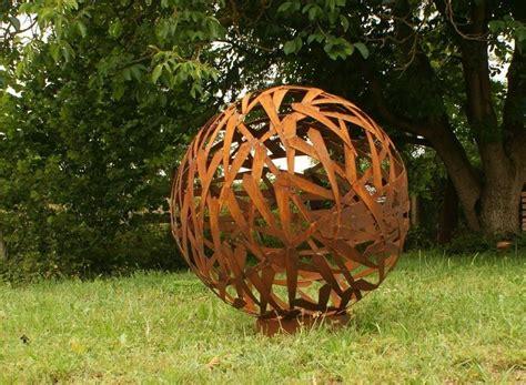 Garten Deko Kugel Rost by Gartendeko Shop Rost Kugel Durchmesser 80cm