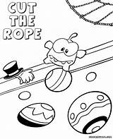Cut Rope Coloring Template sketch template