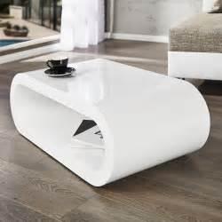design couchtisch weiss design lounge couchtisch beistelltisch cuben eliptica weiss hochglanz 90cm neu ebay
