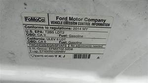 Used Engine Assembly For Sale For A 2014 Ford Transit