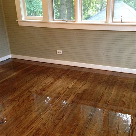 Staining Hardwood Floors Darker by Hardwood Floor Refinishing With Antiquebrown
