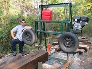 Homemade Bandsaw Mill - by bryguy22 @ LumberJocks com