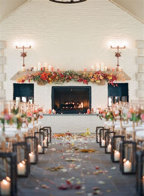 25 Romantic Winter Wedding Aisle Décor Ideas Everything