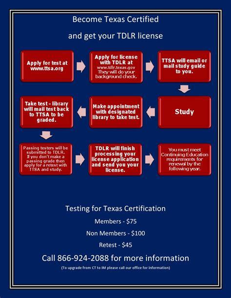 tdlr certification texas towing storage association