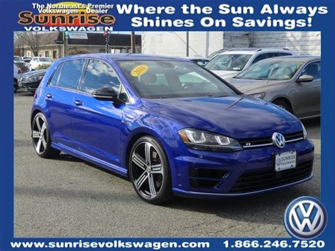 Certified Pre-owned 2016 Volkswagen Golf R Dcc
