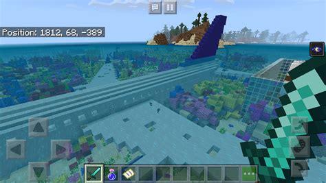 Mcpe Ocean A220 Plane Crash Minecraft Map