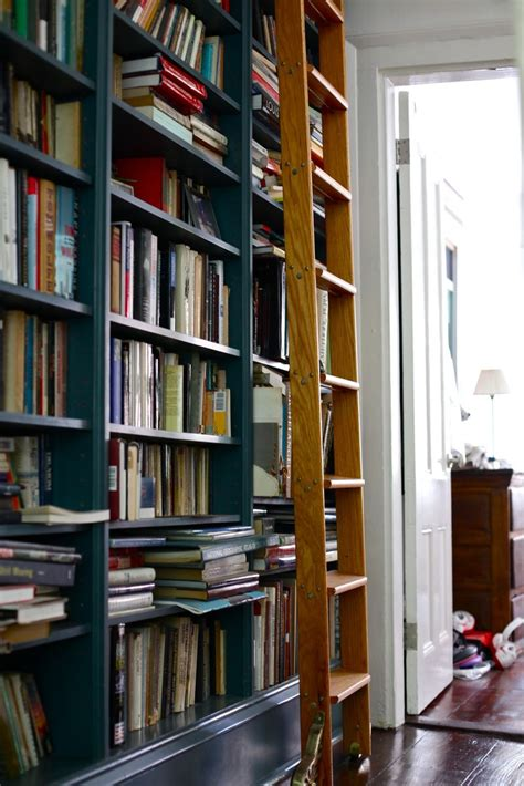 Library Bookcase Ladder by Bookcase With Library Ladders Ii Nomadic Decorator