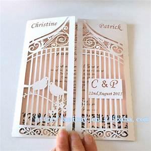 aliexpresscom buy personalized wedding love birds on With laser cut birdcage wedding invitations