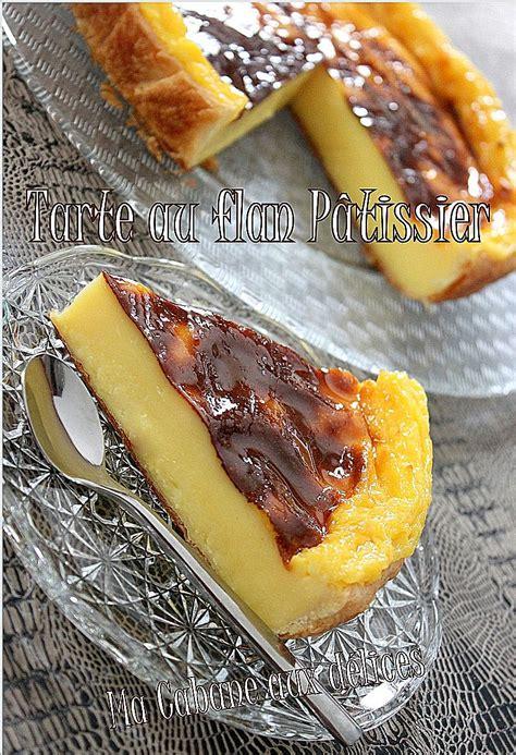 recette flan patissier maison tarte au flan patissier recettes faciles recettes rapides de djouza