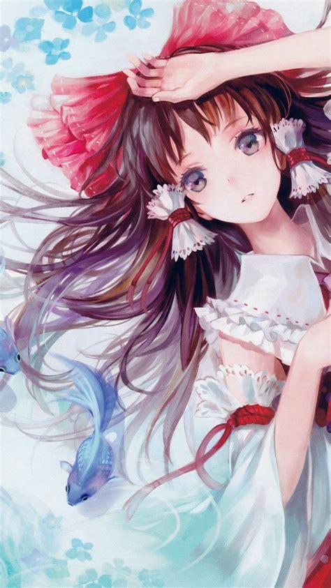 ao anime art paint girl cute papersco