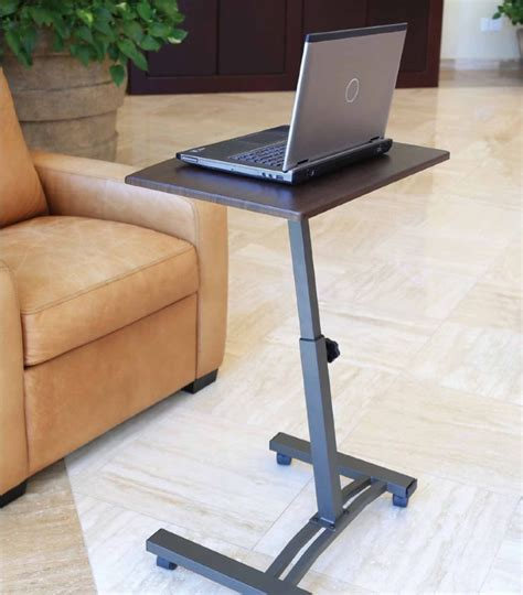 mobile laptop desk cart laptop desk table cart mobile tray over bed rolling