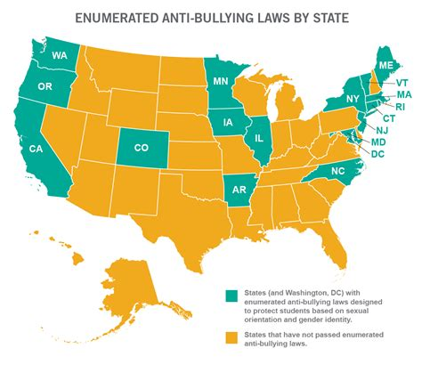 33 States Don't Protect Lgbt Students In Antibullying