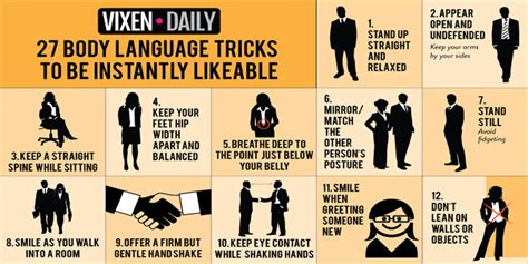 27 Body Language Tricks To Be Instantly Likeable