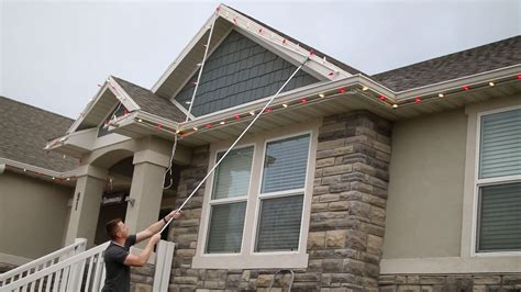 how to put christmas lights on house the best way to put up christmas lights diy nils