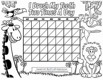 Brushing Chart Children Pediatric Dentist Fun Stuff
