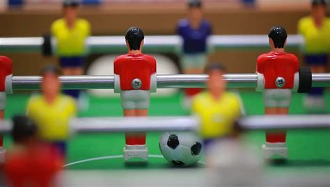 table football foosball stock footage video