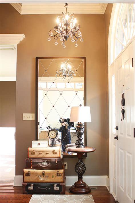 foyer mirrors foyer mirror on foyer wall decor modern foyer